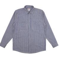 A/C Twill Stripe 3-Pocket Work Shirt
